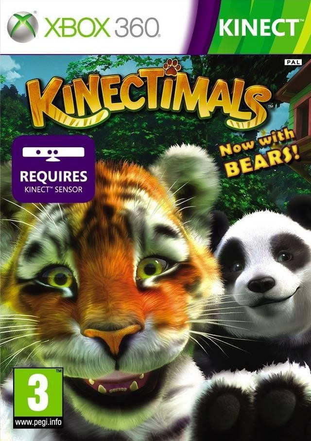 Kinectimals: Now with Bears! (XBOX 360) XBOX 360 Game - Shamy Stores