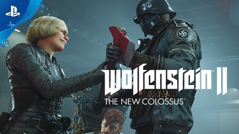 Buy Wolfenstein 2 (the new colossus) (PS4) a PS4 Game from ShamyStores - Shamy Stores