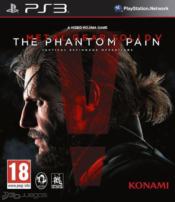 Metal Gear Solid The Phantom Pain PS3 Game - Shamy Stores