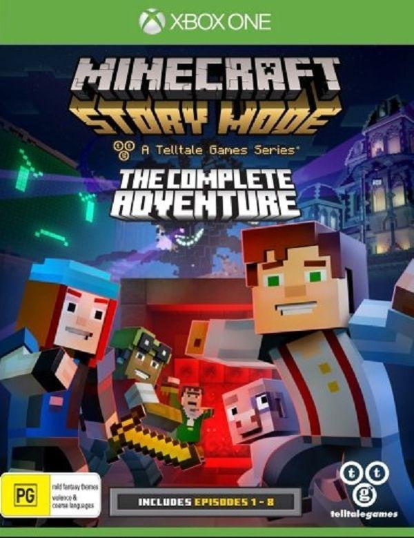 Buy Minecraft story mode complete adventure (XBOX ONE) XBOX ONE in Egypt - Shamy Stores