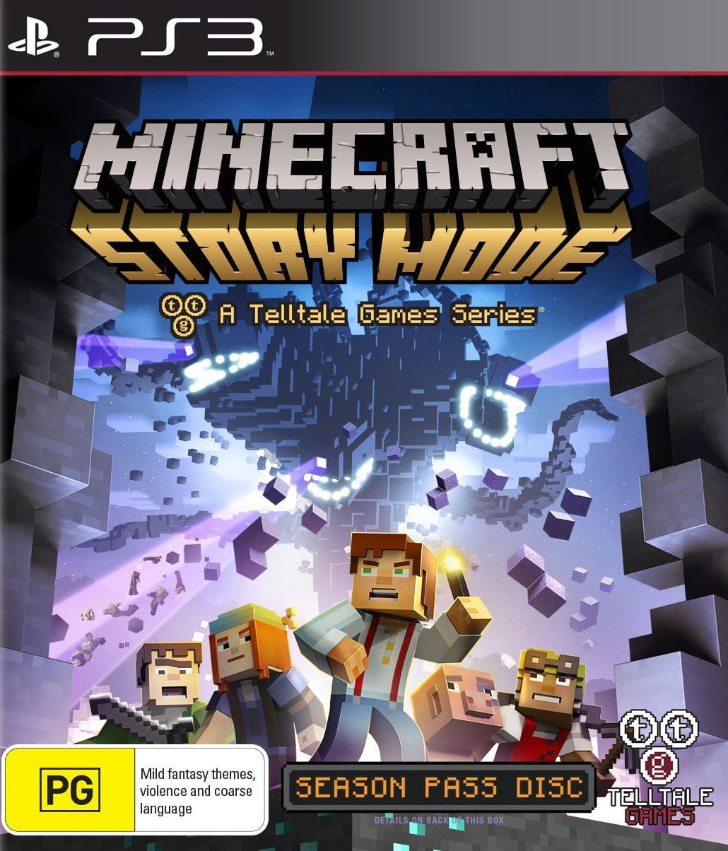Buy Minecraft: Story Mode - A Telltale Games Series PS3 Game in Egypt - Shamy Stores