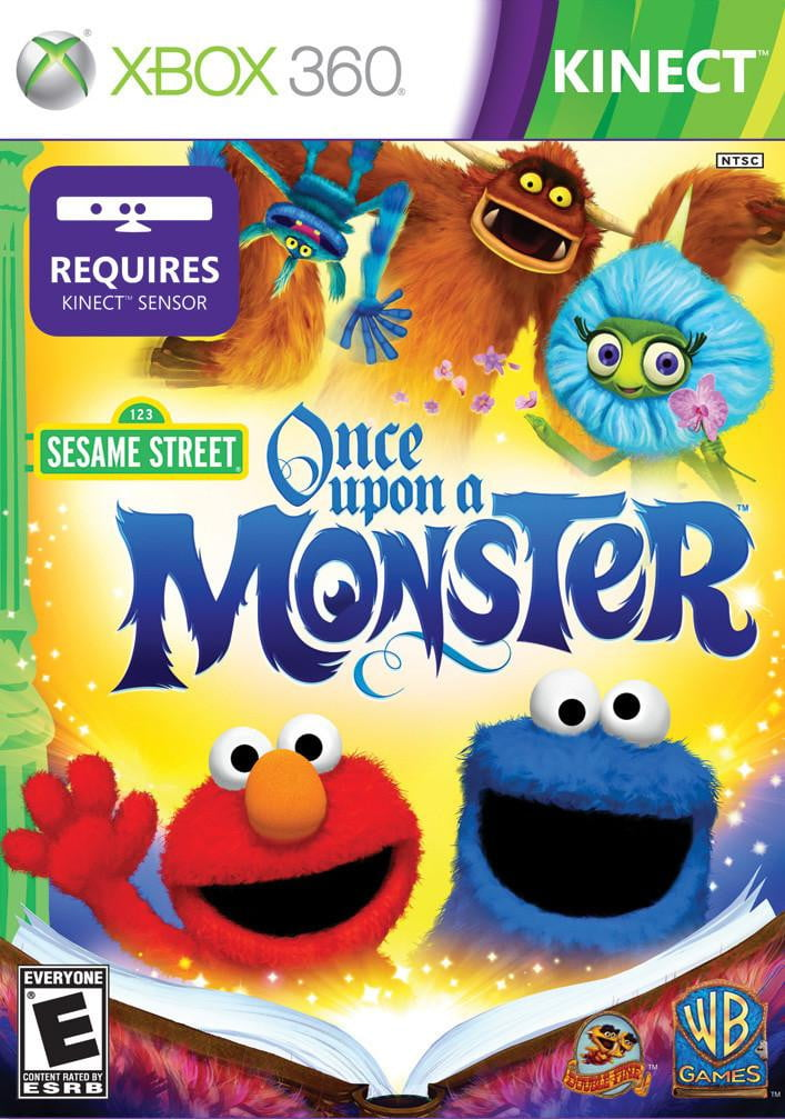 Shamy Stores Sesame Street: Once Upon a Monster (XBOX 360) XBOX 360 Game Microsoft Microsoft egypt