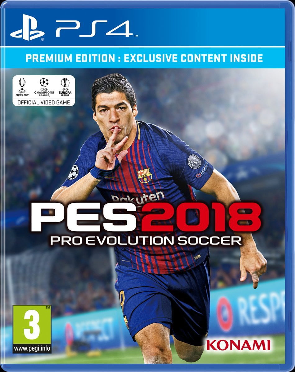 Buy Pes 18 premium ed (en) (PS4) PS4 Game in Egypt - Shamy Stores
