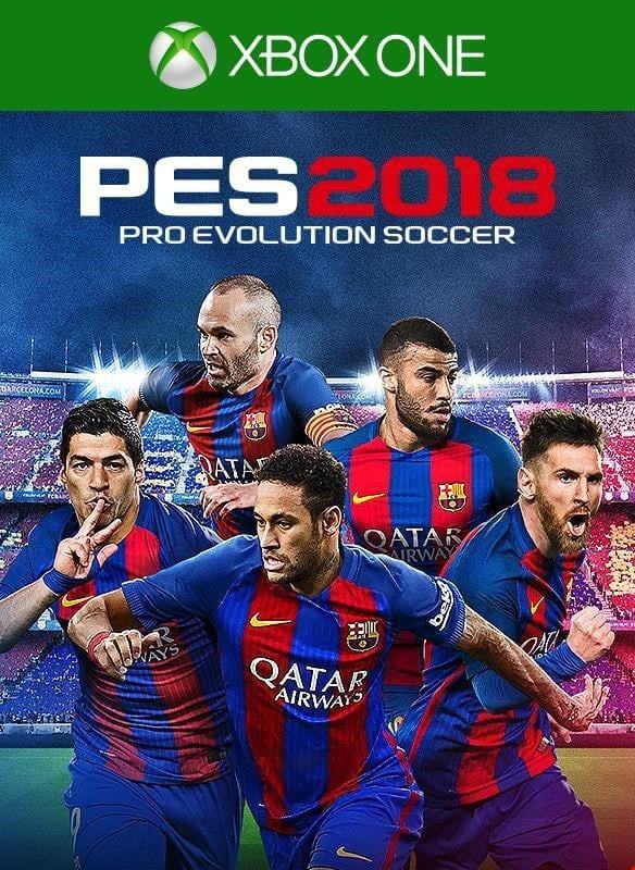 Buy Pes 18 (En) (XBOX ONE) XBOX ONE in Egypt - Shamy Stores