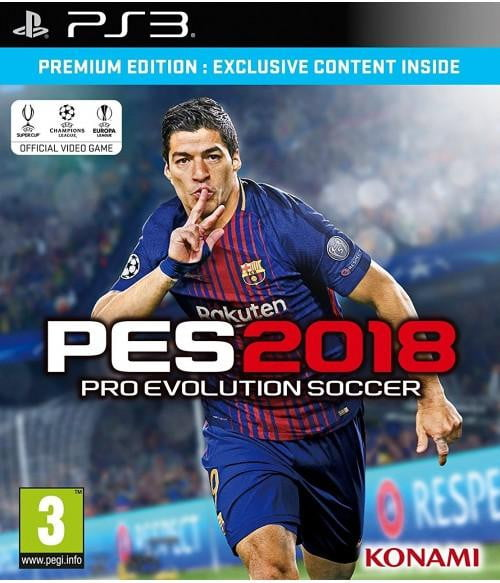 Buy PES 2018 Premium Edition (PS3) PS3 Game in Egypt - Shamy Stores