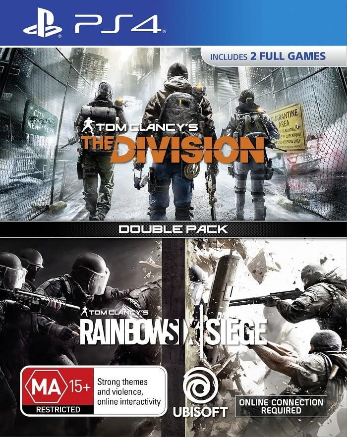 Buy The division + rainbow six (PS4) PS Vita in Egypt - Shamy Stores