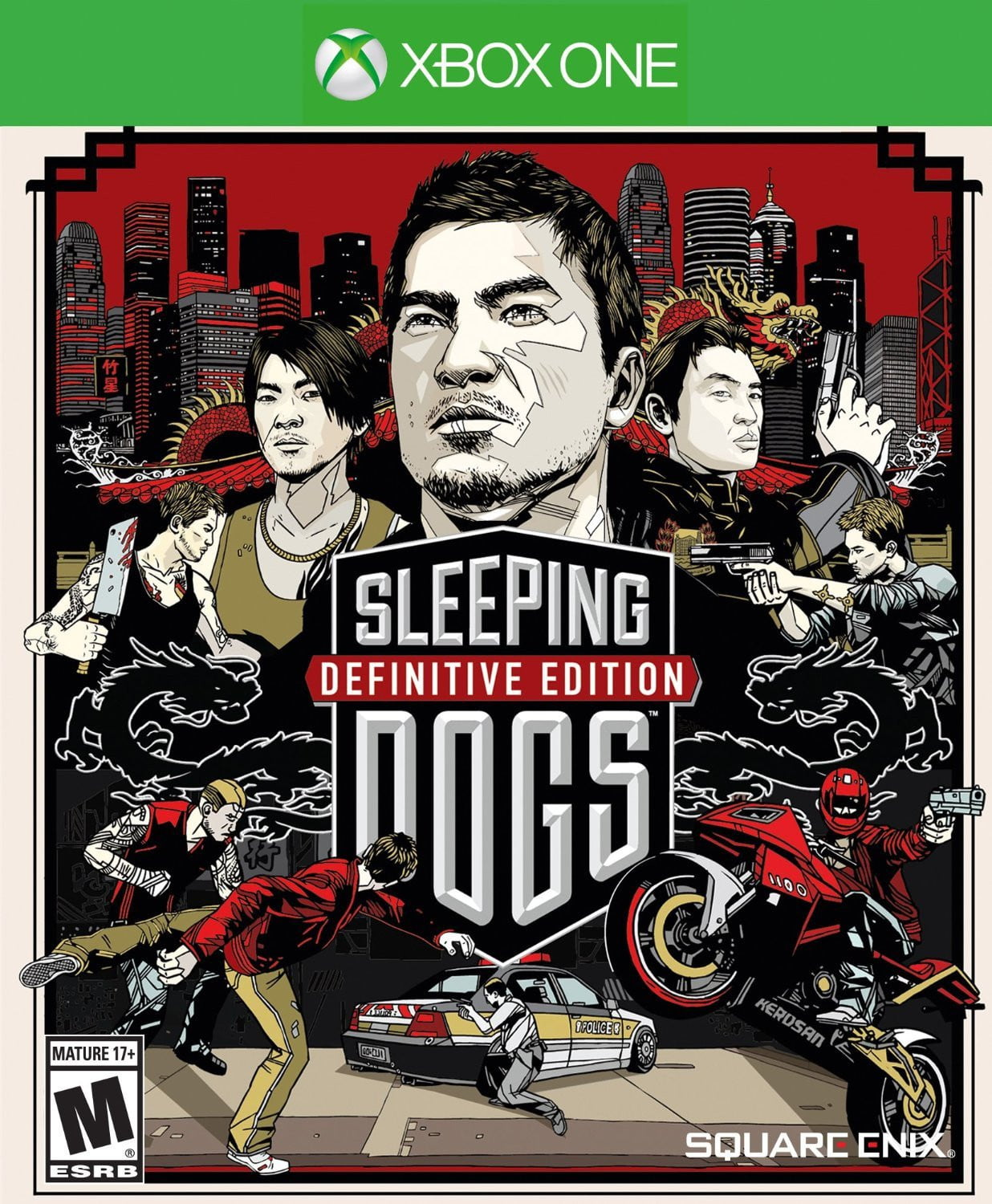 Buy Sleeping Dogs Definitive Edition (XBOX ONE) XBOX ONE in Egypt - Shamy Stores
