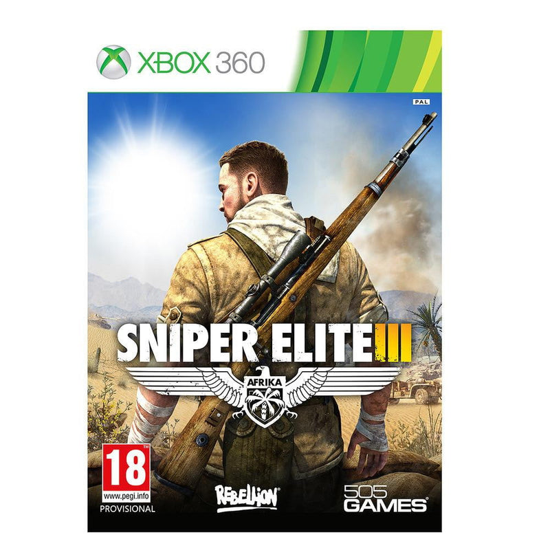 Shamy Stores Sniper Elite III (XBOX 360) XBOX 360 Game 505Games 505Games egypt