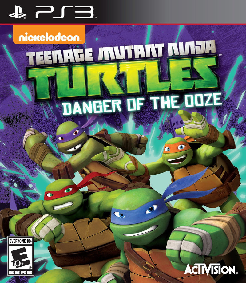Shamy Stores Teenage Mutant Ninja Turtles: Danger of ooze (PS3) PS3 Game ShamyStores ShamyStores egypt