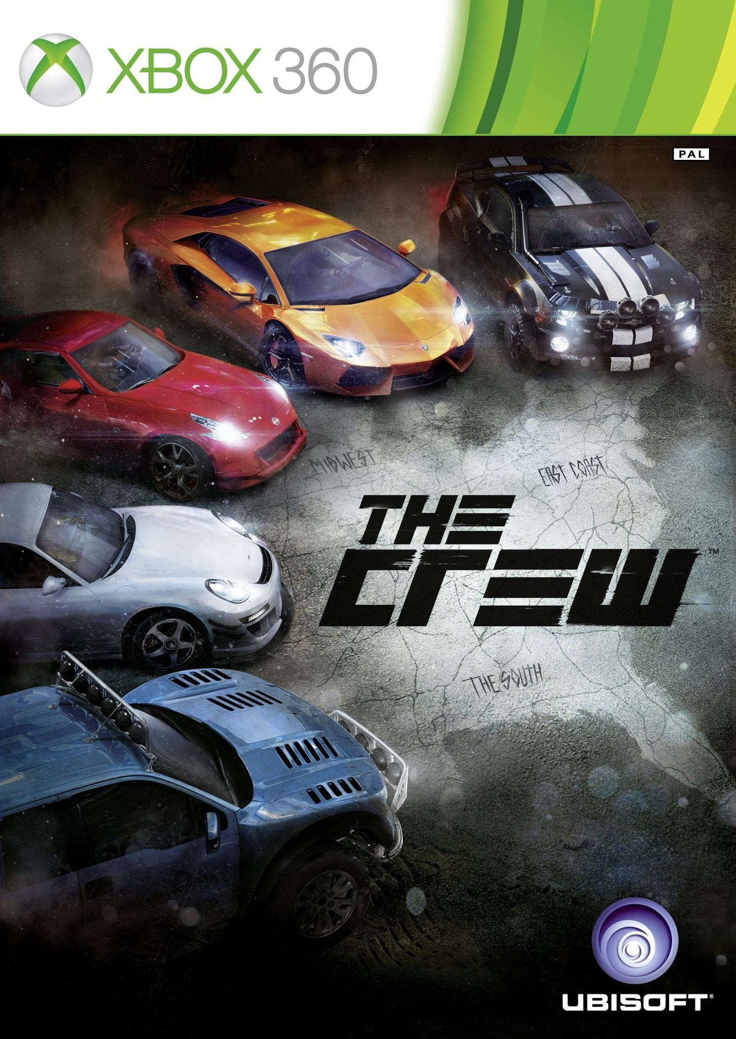 Buy The Crew (XBOX 360) XBOX 360 Game in Egypt - Shamy Stores