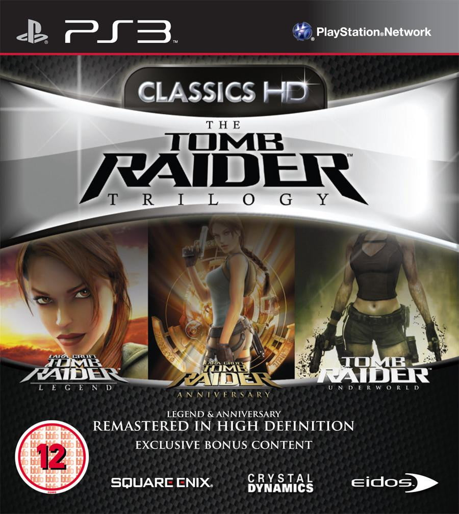 Tomb raider trilogy Hd (PS3) PS3 Game - Shamy Stores