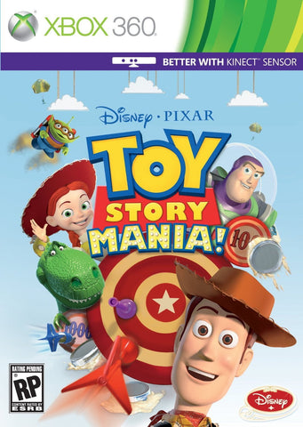 kinect Toy Story Mania