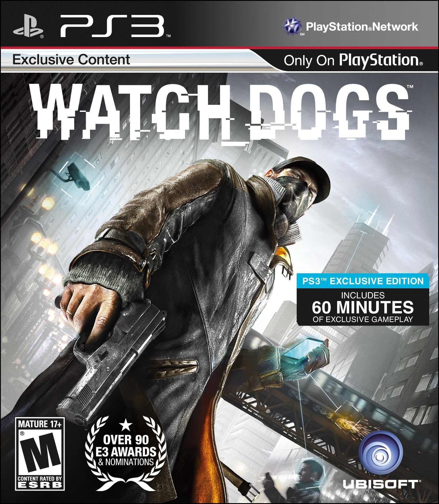 Watch Dogs PS3 Game - Shamy Stores
