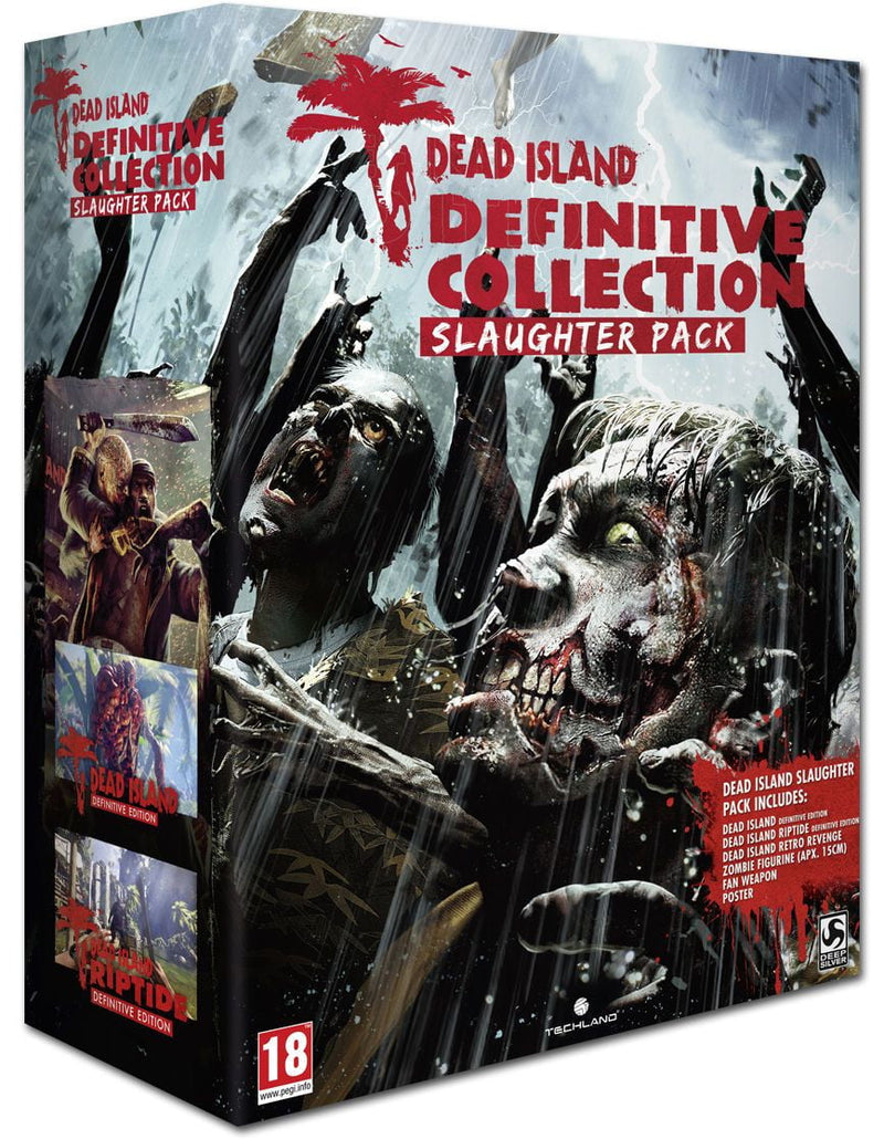 Shamy Stores Dead Island Definitve Collection Slaughter Pack PS4 Game Sony Sony egypt