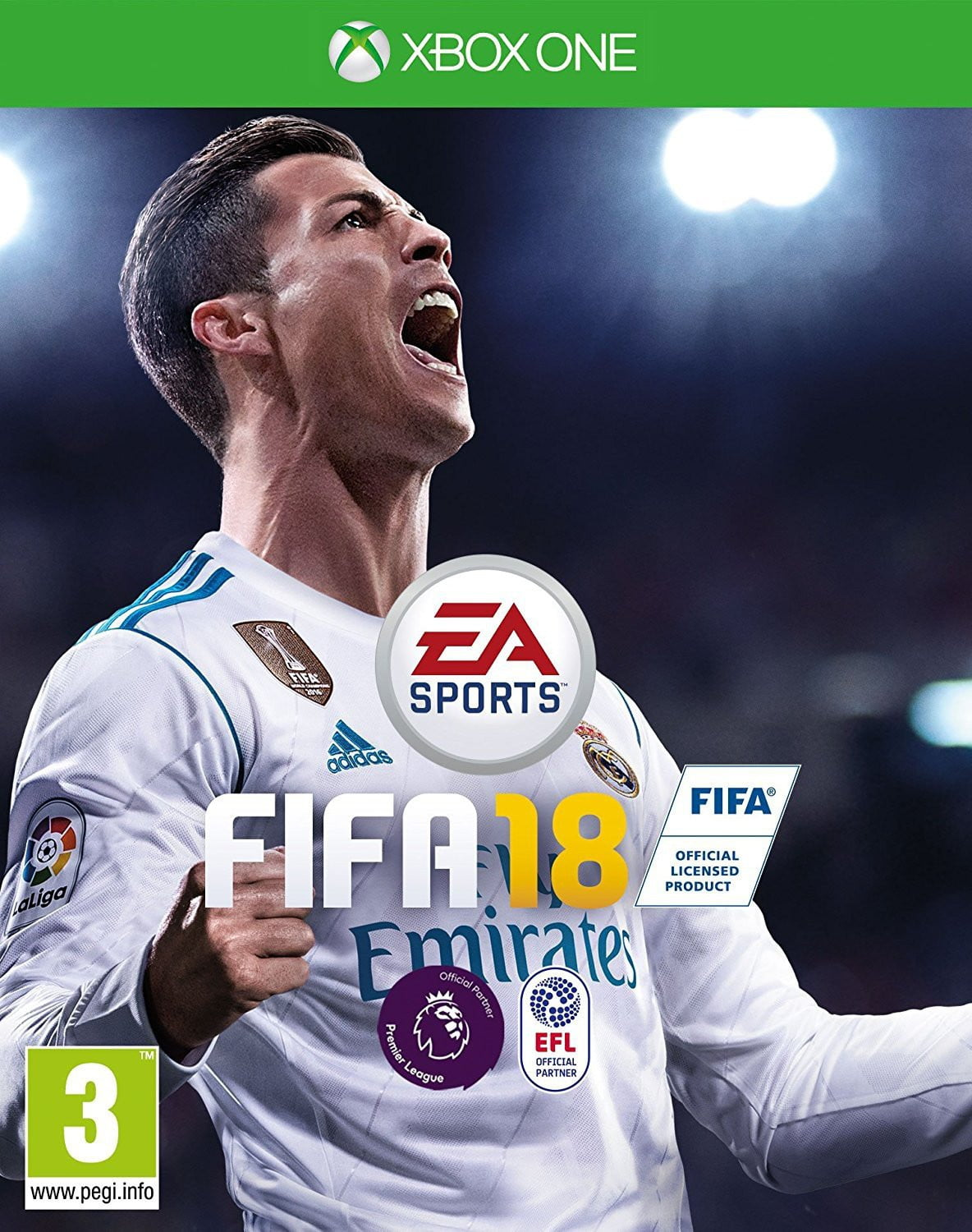 Buy Fifa 18 (En) (XBOX ONE) XBOX ONE in Egypt - Shamy Stores