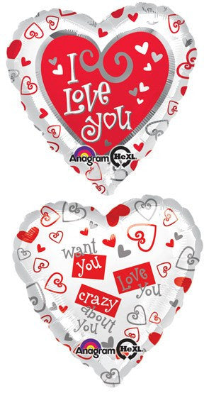 Simply Said Love Balloon