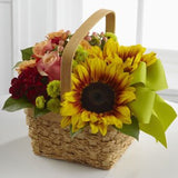 Bright Day Basket - BASKET INCLUDED