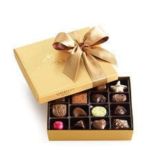 Godiva Gold Ballotin Assorted Chocolates - 19-piece Box