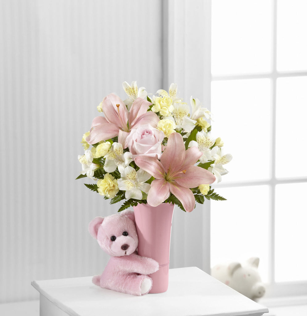 Baby Girl Big Hug® Bouquet