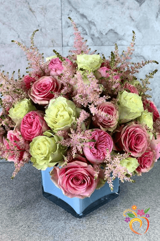 Lush Rose Elegance - Local Delivery Only