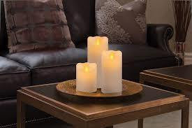 Mirage Realistic Pillar Candles