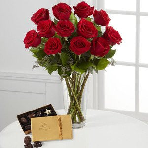 Red Rose & Godiva Bouquet