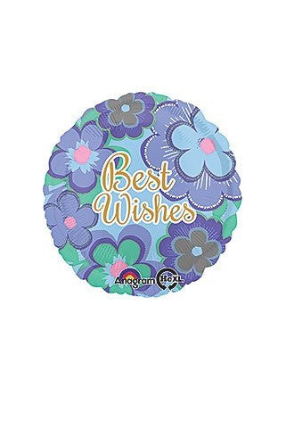 Best Wishes Mylar Balloon