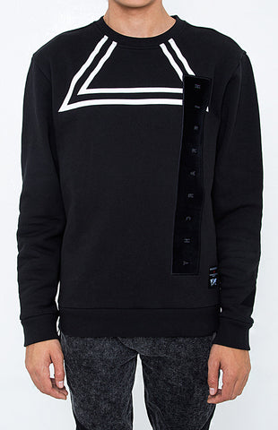 BLACKOUT HIERARCHY TRIANGLE SWEATSHIRTS