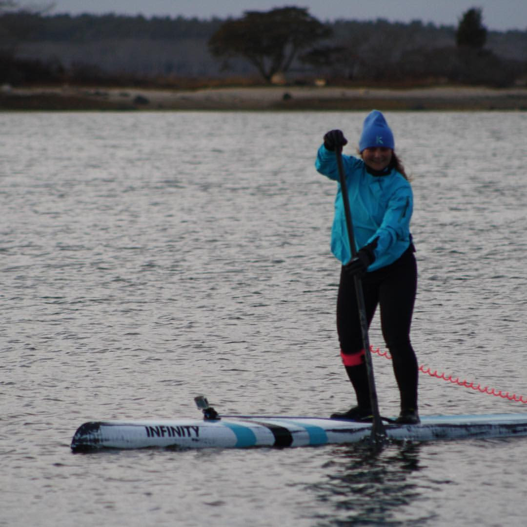 Standup Paddling in The Off Season