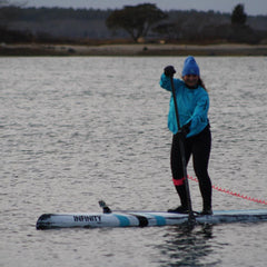 WINTER PADDLE BOARDING ON CAPE COD