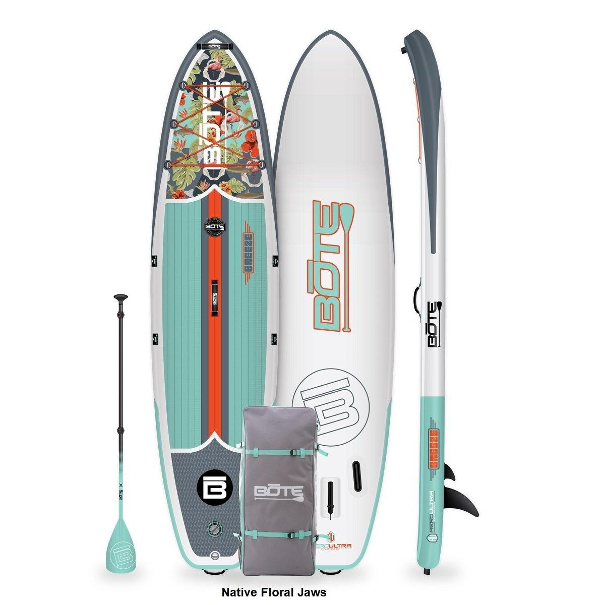 Breeze Aero Inflatable Paddle Board 10'8'' / Native Floral Jaws
