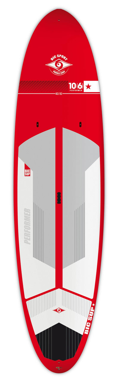 "bic paddle board 10'6"" red"
