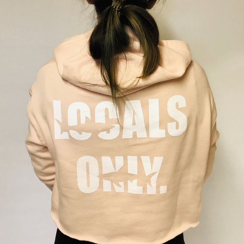 LOCALS ONLY Cropped Hoodie