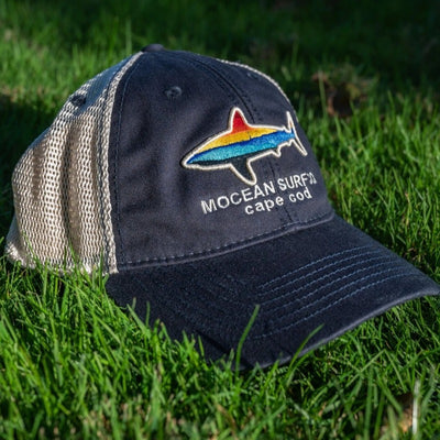 MOCEAN Sunset Shark Trucker