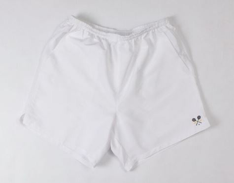 Lined White Boast Shorts
