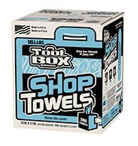 Shop Towels - Disposable - Pull-Box - flywheelnw.com