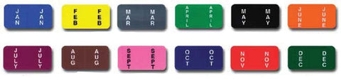 File Right Color-Code Month Labels - Ringbook - flywheelnw.com