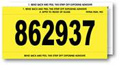 Stock Number Mini Signs - Imprinted - flywheelnw.com