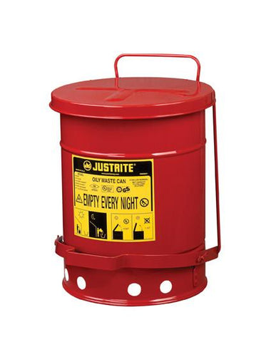 Oily Waste Cans - 6 Gallon - flywheelnw.com