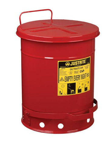 Oily Waste Cans - 10 Gallon - flywheelnw.com