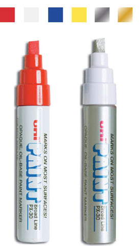 Uni Paint Markers (Oil-based) - flywheelnw.com