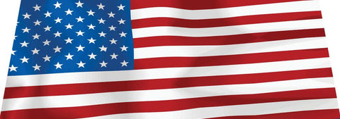 American Flag Windshield Banner - flywheelnw.com