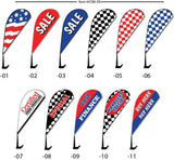 Clip-On Paddle Flags - flywheelnw.com