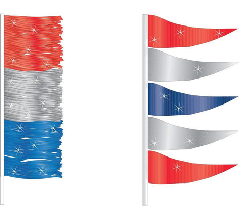 Antenna Flags - Metallic - flywheelnw.com