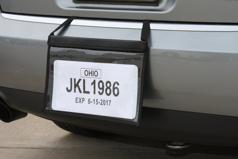 Demo License Plate Holders - Tag bag - flywheelnw.com