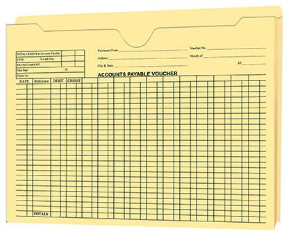 "Accounts Payable Voucher Envelopes - 1"" Expandable Jacket - flywheelnw.com"