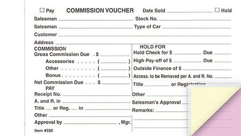 Commission Voucher Gross/Net - flywheelnw.com