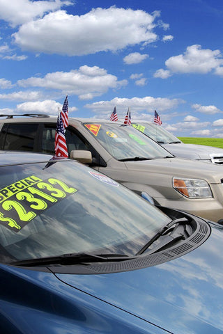 "Number Window Stickers - 11-1/2"" Various Colors - flywheelnw.com"