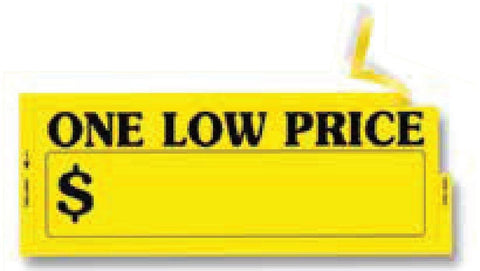 One Low Price Window Sticker - flywheelnw.com