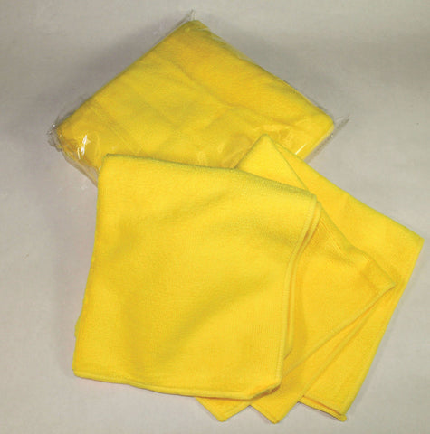 Deluxe Yellow Detailing Towel - flywheelnw.com